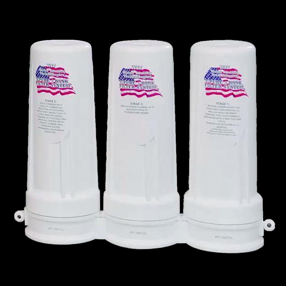 3-Bank Fluoride Filter