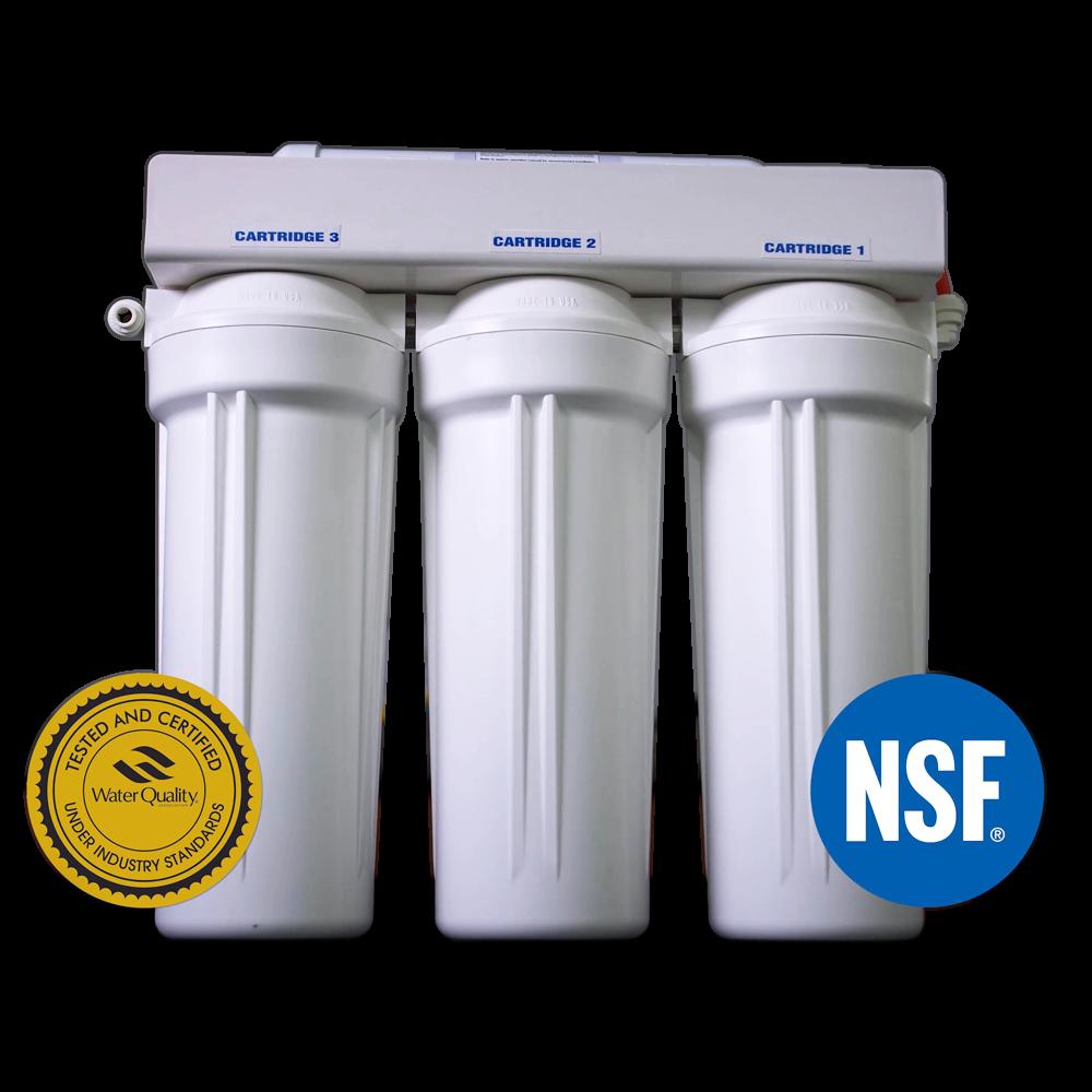 4-Bank Chromium-6 Filter